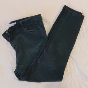 LOFT Green Cordoroy Pants